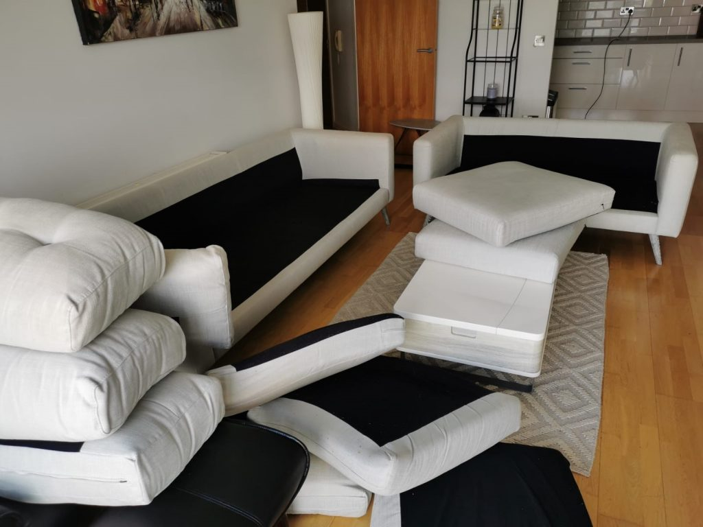 Move in/Move out cleaning services in Sandymount